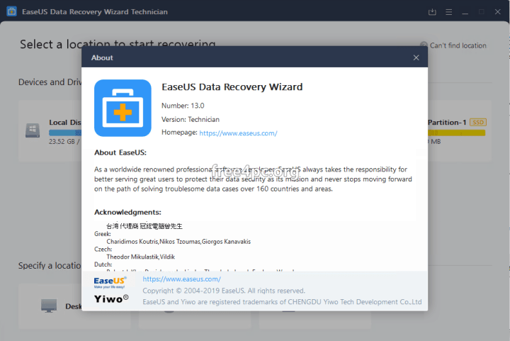 EaseUS Data Recovery Wizard Technician 13.0 Crack