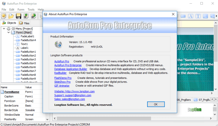 Longtion AutoRun Pro Enterprise Crack