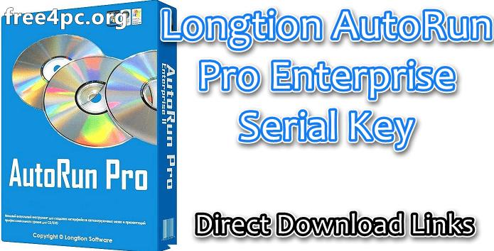 Longtion AutoRun Pro Enterprise Serial Key