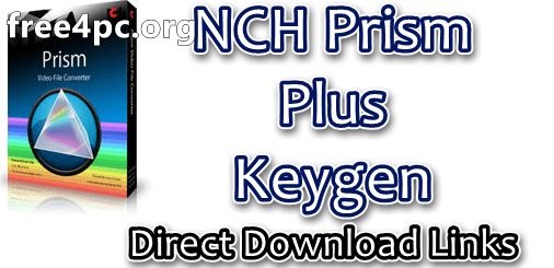 NCH Prism Plus Keygen
