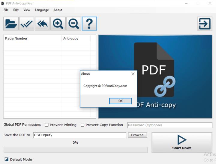 PDF Anti Copy Pro Crack