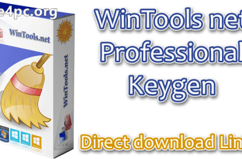 WinTools net Professional Keygen