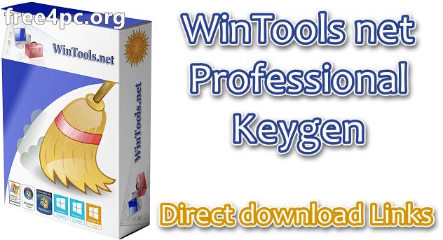 WinTools net Professional Keygen
