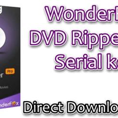 WonderFox DVD Ripper Pro Serial Key