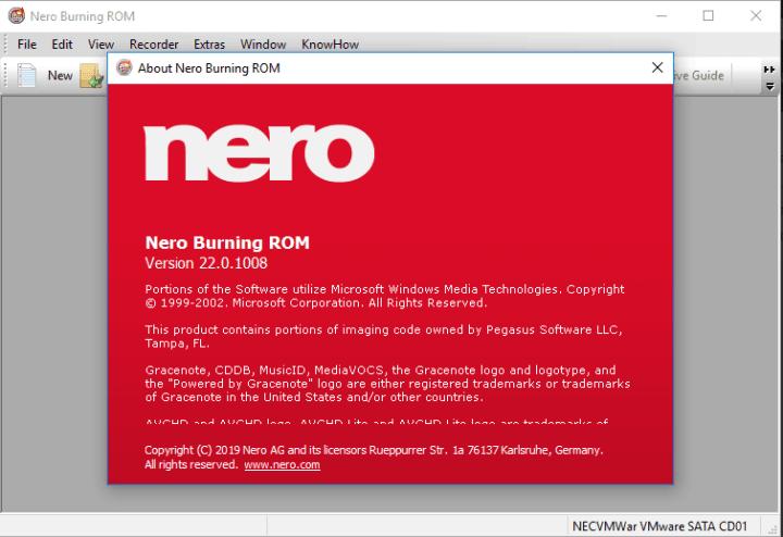 Nero Burning ROM 2020 Activation Key