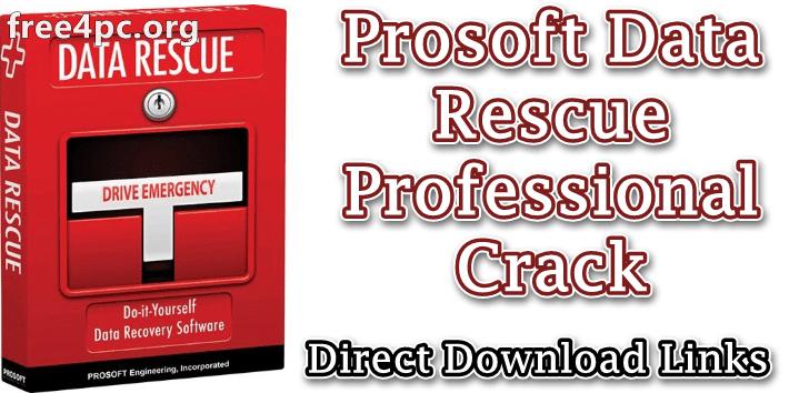 Prosoft Data Rescue Professional Crack