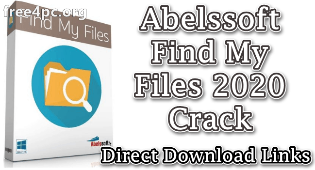 Abelssoft Find My Files 2020 Crack