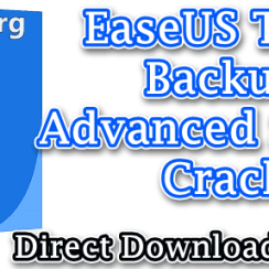 EaseUS Todo Backup Advanced Server Crack