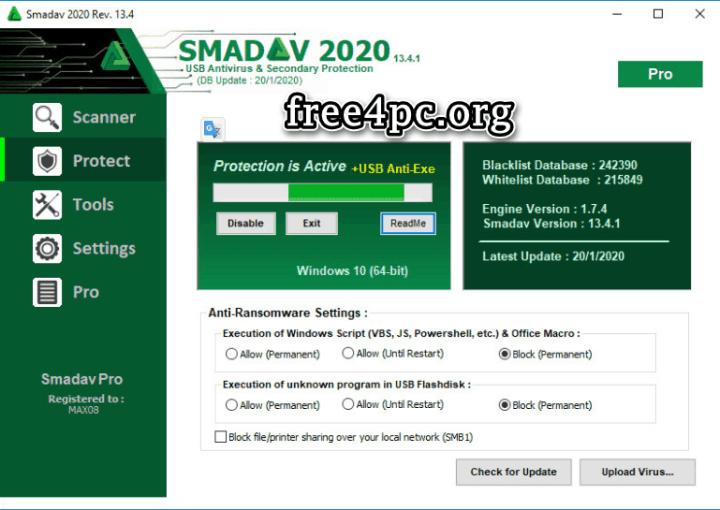 Smadav Pro 2020 Key
