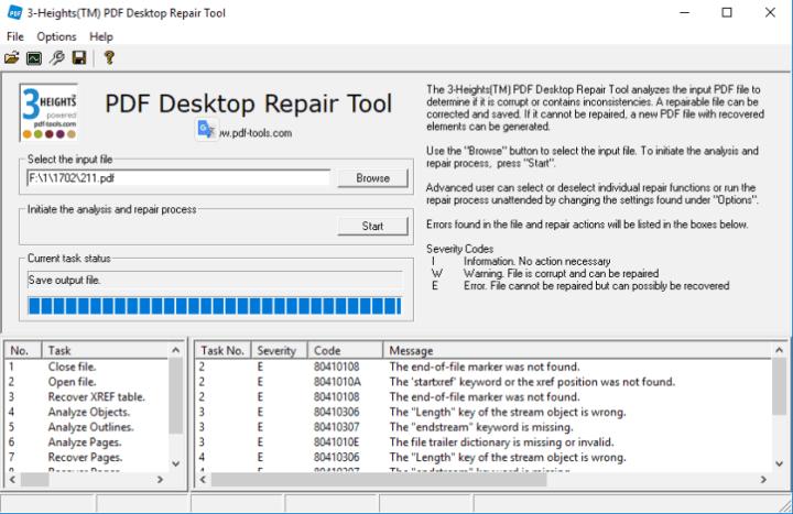 3-Heights PDF Desktop Repair Tool Crack