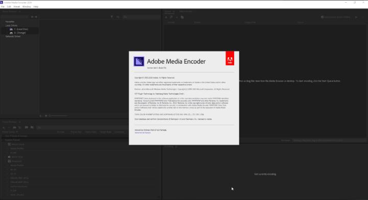 Adobe Media Encoder 2020 Crack Full Version
