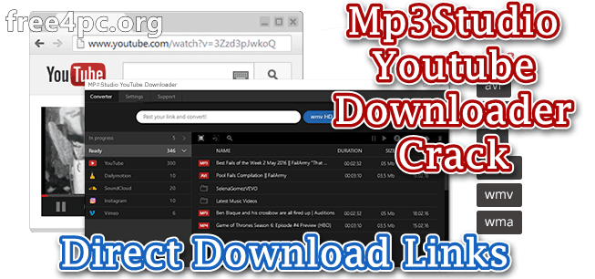 Mp3Studio Youtube Downloader Crack