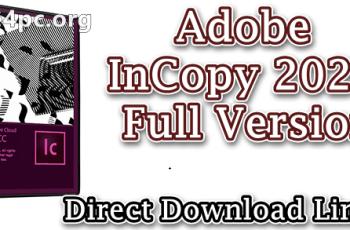 Adobe InCopy 2020 Full Version