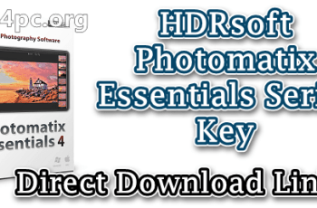HDRsoft Photomatix Essentials Serial Key