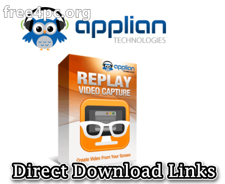 Applian Replay Video Capture Crack