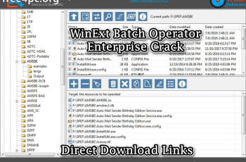WinExt Batch Operator Enterprise Crack