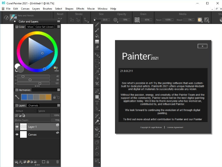 Corel Painter 2021 v21.0.0.211 With Crack Free