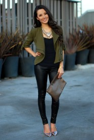 2.-leather-trousers-in-olive-green-blazer