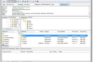 Filezilla繁體下載 免安裝 ftp 軟體
