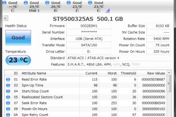 硬碟檢測工具 CrystalDiskInfo 免安裝版