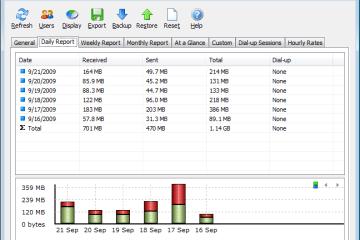 網路流量監控軟體 SoftPerfect NetWorx 免安裝版