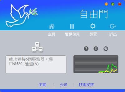 自由門freegate免安裝中文版