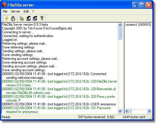 FTP伺服器架站軟體 - FileZilla Server 繁體中文版下載
