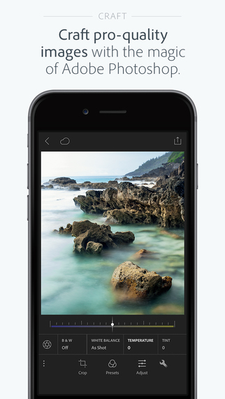 手機照片編輯軟體app – lightroom下載 免費