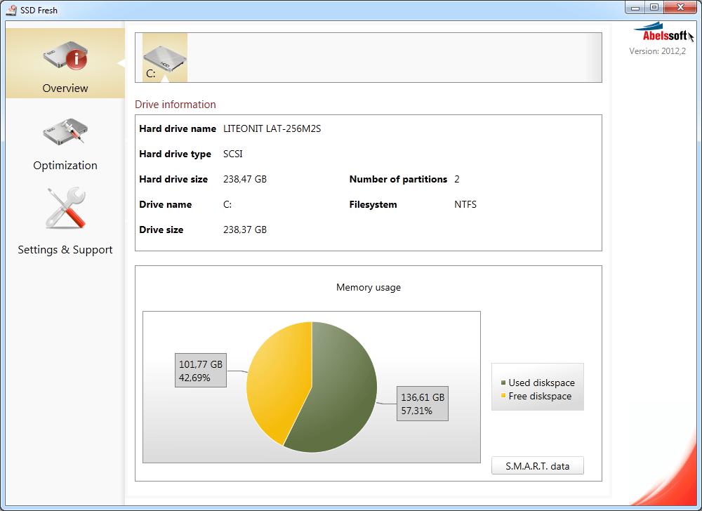 SSD加速軟體 SSD Fresh 2020免安裝