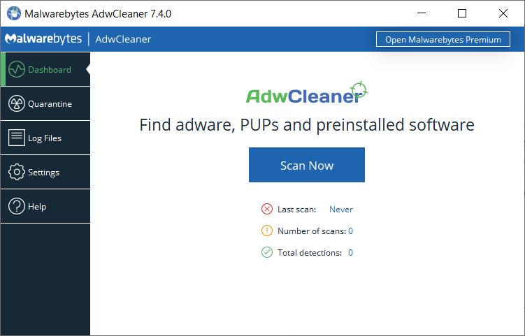 首頁被綁如何處理 AdwCleaner 網頁綁架解除工具