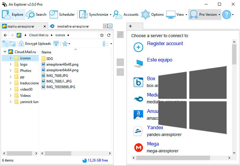 Air Explorer 空雲瀏覽器 整合免費雲端硬碟超簡單