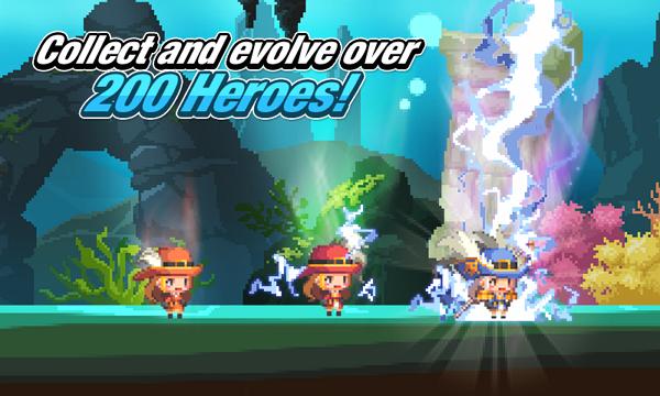 比遠的要命的王國更好玩的像素英雄RPG遊戲 - Crusaders Quest 十字軍任務