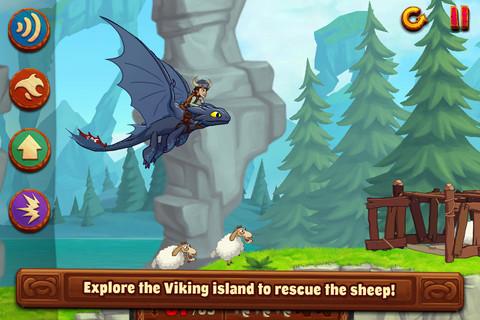 [限時免費app]馴龍高手遊戲下載 DreamWorks Dragons: TapDragonDrop