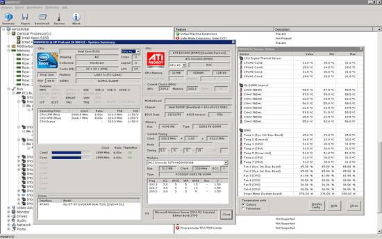 電腦硬體資訊顯示工具 HWiNFO64
