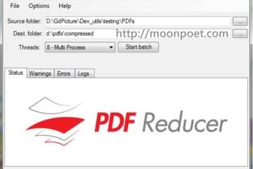 PDF壓縮軟體 用 PDF Reducer Free 把PDF減肥到最小