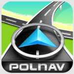 手機免費導航軟體下載  離線導航APP Polnav mobile