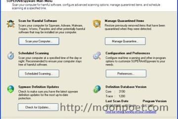 反惡意軟體程式 SuperAntiSpyware 免安裝版