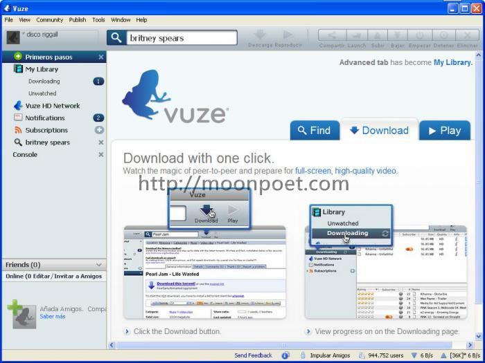 藍箭毒蛙 Vuze bt下載器