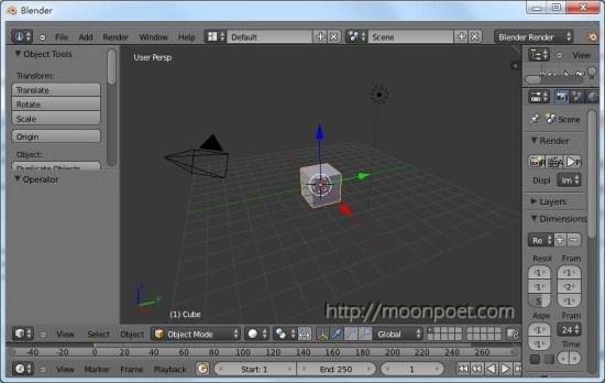 免費3d繪圖軟體下載 Blender