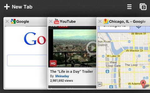 Google瀏覽器 Chrome iPhone版/iPad版正式上架