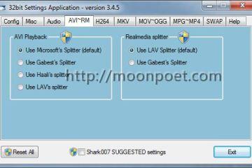 Windows 10 Codecs Pack 影音編碼器播放軟體