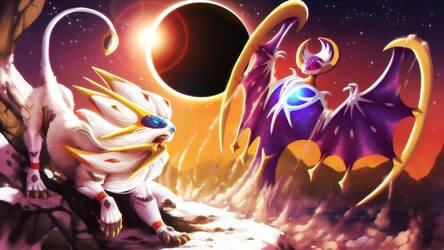 pokemon sun moon wallpaper