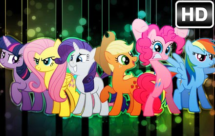 Puppies And Fall Wallpaper My Little Pony Wallpaper Hd New Tab Themes Free Addons