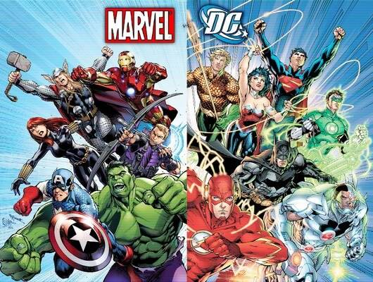 Marvel Vs DC Comics Whats The Difference Between Marvel