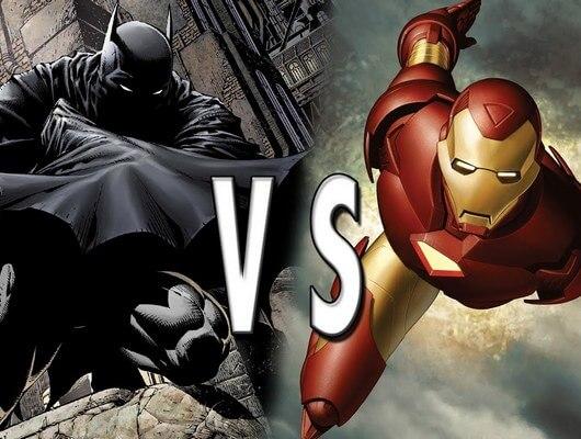 Fall Scenery Wallpaper The Battle Between World S Smartest Men Batman Vs Iron Man