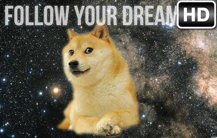 Cute Cartoon Foxes Wallpaper Doge Hd Wallpaper New Tab Themes Free Addons