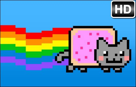 Super Cute Puppies And Kittens Wallpaper Nyan Cat Wallpapers New Tab Themes Hd Wallpapers