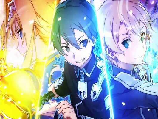 Cute Puppies And Kittens Hd Wallpaper Sword Art Online Alicization First Impression Best Sao