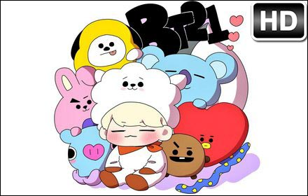 Paris Wallpaper Cute For Iphone Bts Bt21 Hd Wallpapers New Tab Themes Hd Wallpapers