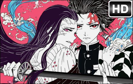 Can You Get Moving Wallpapers For Iphone X Kimetsu No Yaiba Hd Wallpapers Anime New Tab Hd